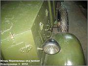 Советский средний бронеавтомобиль БА-3, Танковый музей, Кубинка 6_022