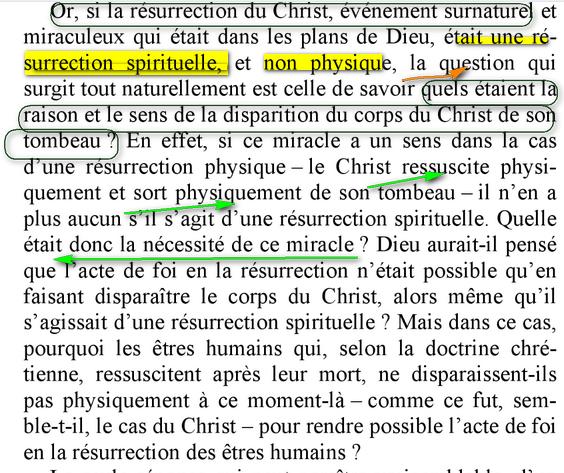 résurrection physique ou spirituelle? Bbb