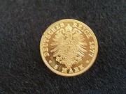 5 Marcos 1877 Saxony R405_3