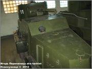 Советский средний бронеавтомобиль БА-3, Танковый музей, Кубинка 6_013