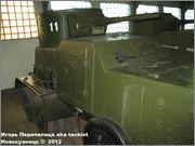 Советский средний бронеавтомобиль БА-3, Танковый музей, Кубинка 6_031