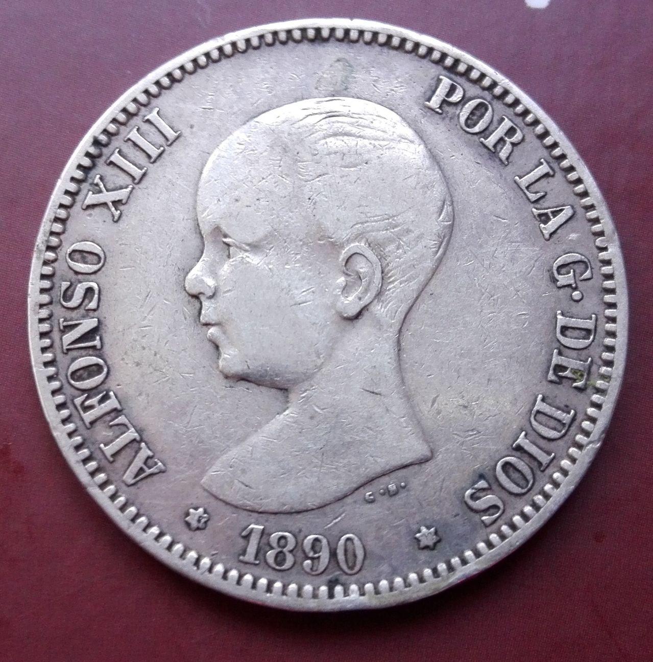 5 pesetas 1890 IMG_20160503_163146