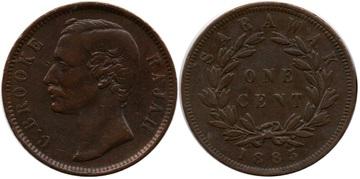SDARAWAK. 1 Cent 1885 Sarawak_6_1_Cent_1885