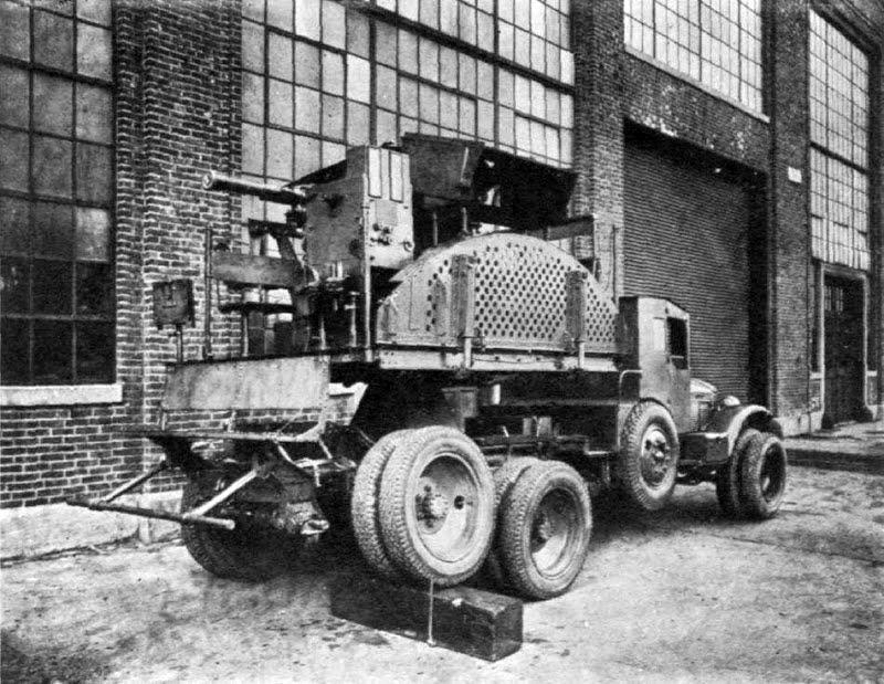 Multiple Machine Gun Motor Mount T1 (М 1:35) 5c1f12da29ea