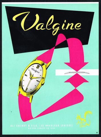 Publicidade dos meus Vintage Valgine_1950