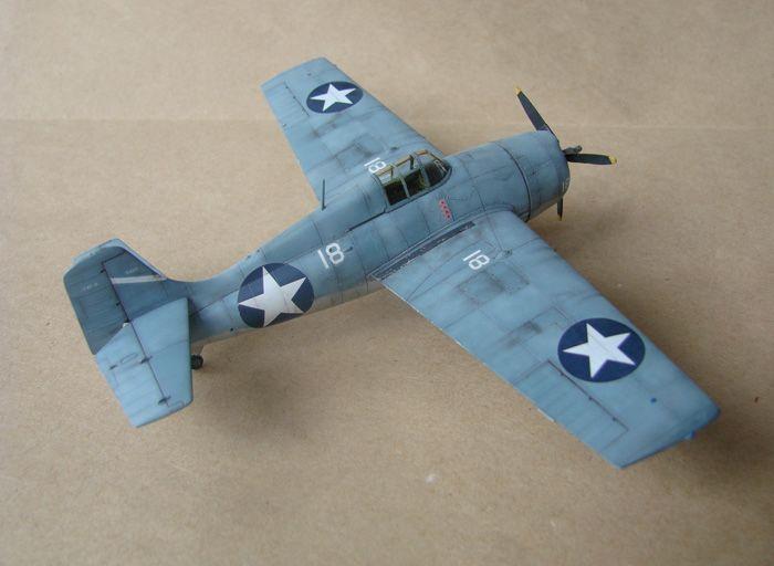 F4F-4 Wildcat, Hasegawa, 1/72 DSC02006