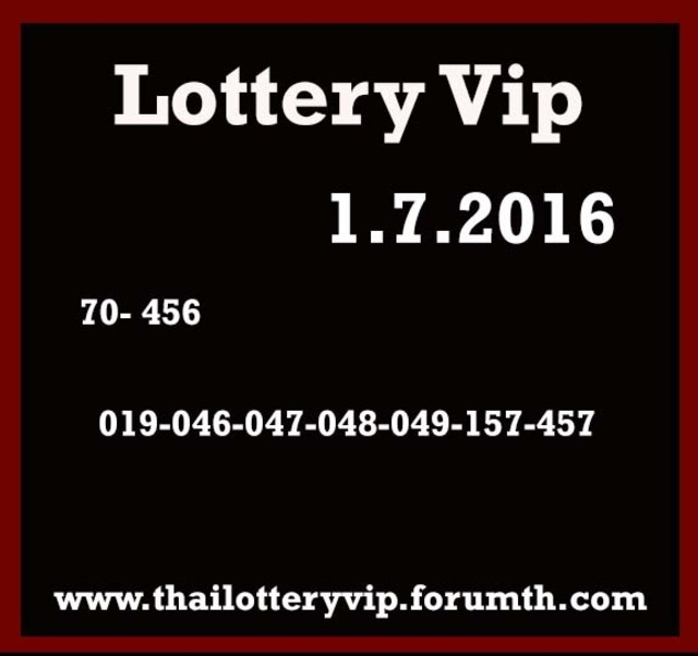 Free Tips for 1.7.2016 - Page 32 Vip