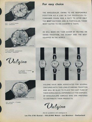Publicidade dos meus Vintage Valgine_1958
