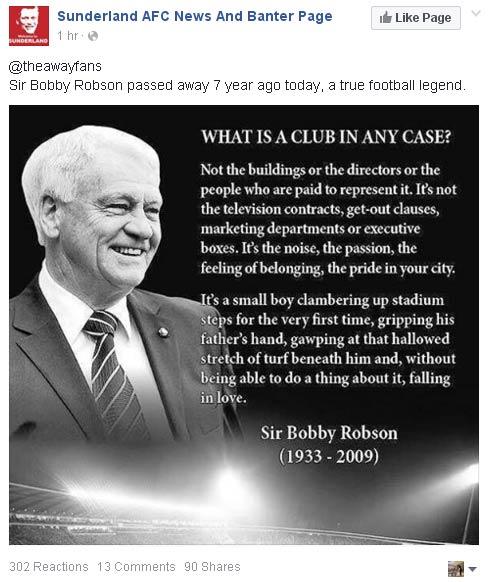 Sir Bobby Robson  - Page 2 Sunder