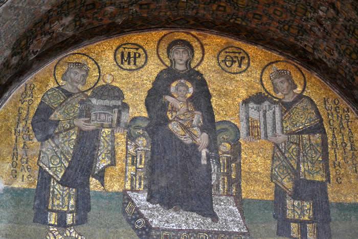 Trachy de Manuel I. (SB 1964) Mosaicoss