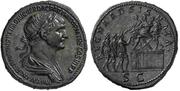 Contorniato o medallón de Trajano REGNA ADSIGNATA / S C. Falsificación. Trajano_asignata