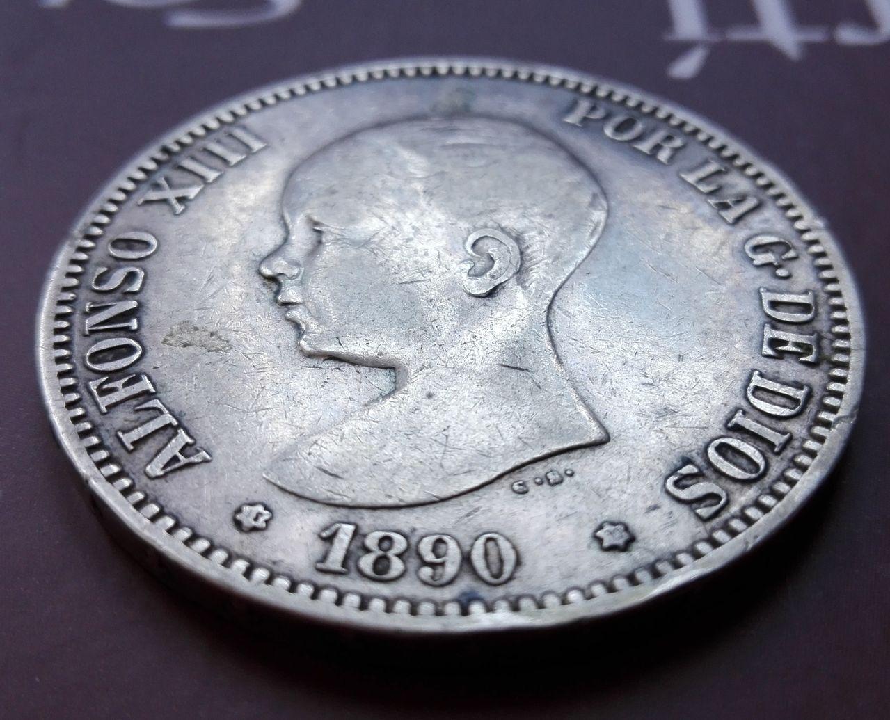 5 pesetas 1890 IMG_20160503_163154