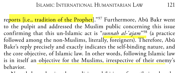 Code Militaire en Islam le plus Moral le Plus Humain Image