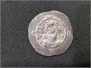 Dracma de Hormazd IV, año 8 (587 d.C), ¿ceca MY Meshan? R203_1