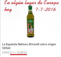 Beneficios del aceite de oliva virgen extra Laespanola