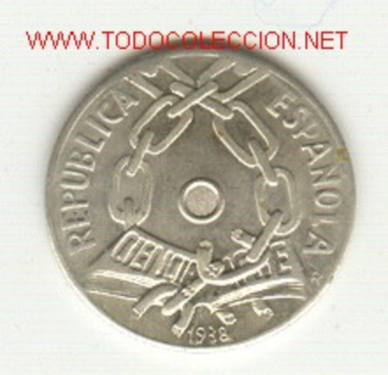 Duro de Carlos IV con reverso de 5 francos franceses Fantasia_a