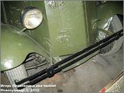 Советский средний бронеавтомобиль БА-3, Танковый музей, Кубинка 6_011