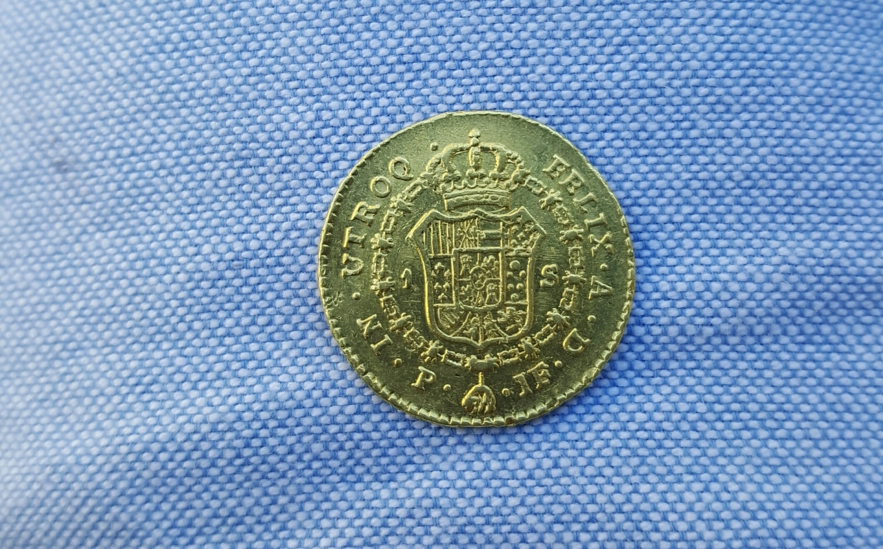 1 escudo 1797. Carlos IV. Popayan 20160713_183457_1
