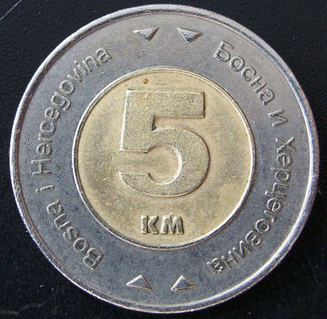 5 Marcos. Bosnia-Herzegovina (2005) BIH_5_Marcos_2005_rev