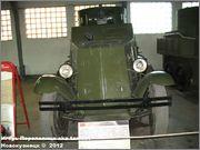 Советский средний бронеавтомобиль БА-3, Танковый музей, Кубинка 6_002