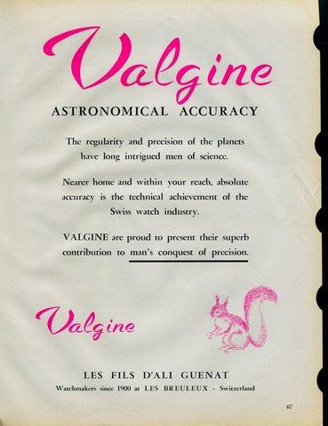 Publicidade dos meus Vintage Valgine_1958_2