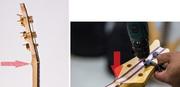Scarf Joint (Headstock angulado) - Diferentes angulações - Página 2 Voluta