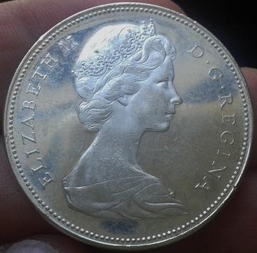 1 Dolar Canada Isabel II 1965 1_Dolar_Canada_Isabel_II_1965_1