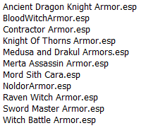 List of merged mods with pics High_Quality_Armors_RM