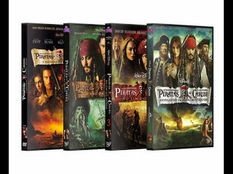 Súper Aporte Saga Completa De Piratas del Caribe Audio Latino Por Mega Image