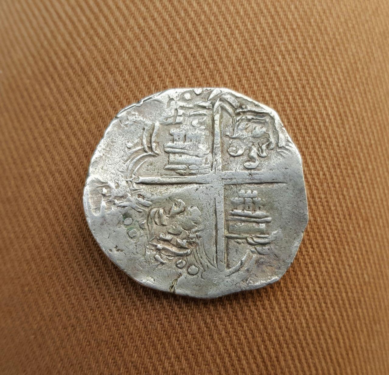 8 reales macuquinos. Felipe IV  20160516_181133_1