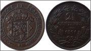 LUXEMBURGO - 2 ½ Centimes Luxemburgo_2_Centimes