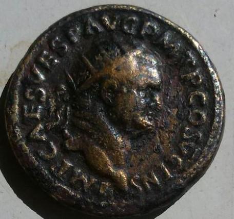 Dupondio de Vespasiano. FELICITAS PVBLICA - S C. Ceca Roma. 88b04eef_6e68_4591_8360_460d9daadf18_2