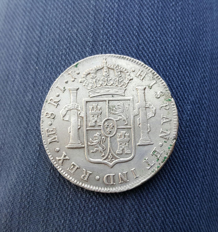 8 reales 1792. Carlos IV. Lima 20160517_173511_1