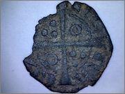 Óbolo de Jaime II de Aragón 1291-1327 Barcelona. R213_1