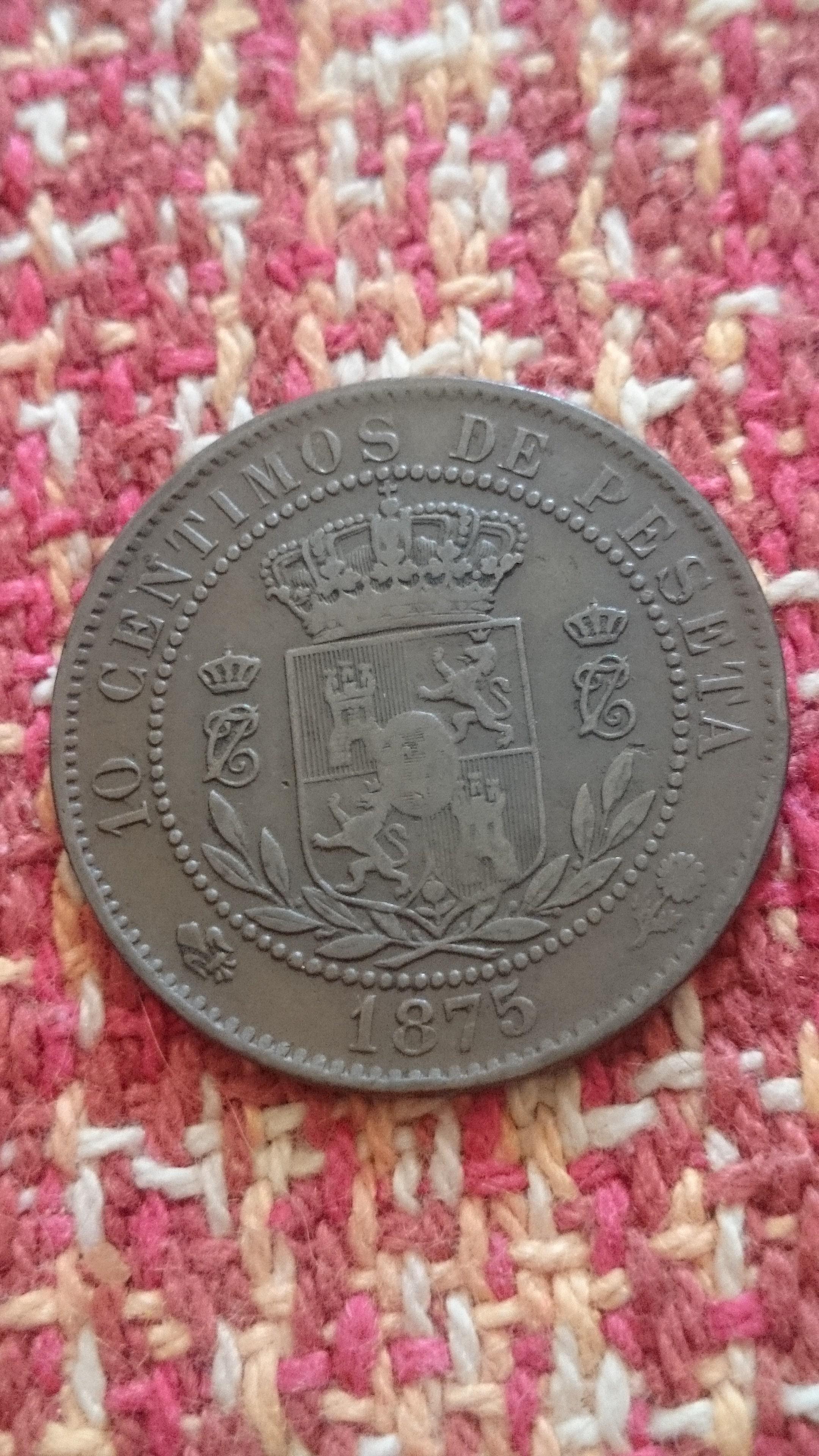10 céntimos 1875 Carlos VII  DSC_1545