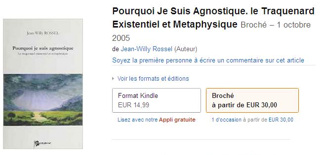 résurrection physique ou spirituelle? Amazon