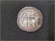Dracma de Hormazd IV, año 8 (587 d.C), ¿ceca MY Meshan? R203