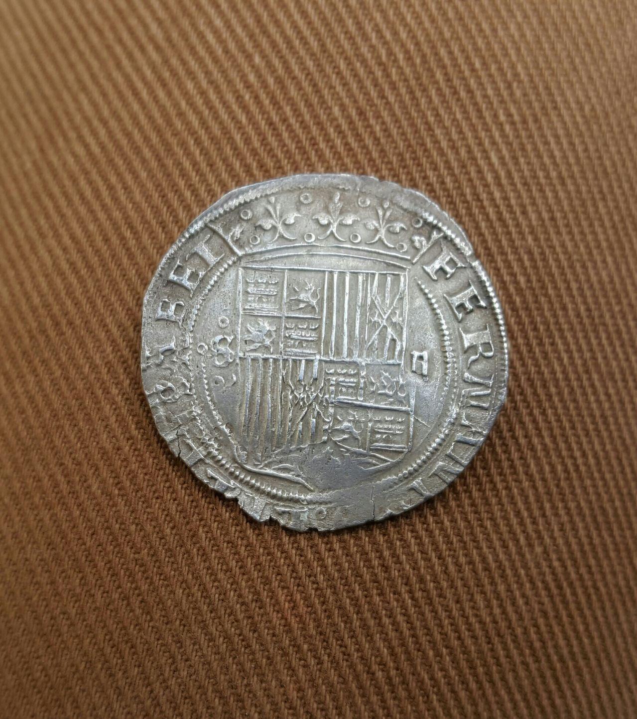 2 reales a nombre de los Reyes Católicos. Sevilla  20160514_131425_1