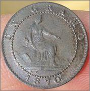 1 céntimo 1870. Gobierno Provisional 1_centimo_Gobierno_Provisional_1870_2