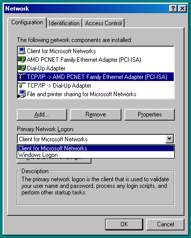 How to Network Windows 7 and Windows 98 Image3
