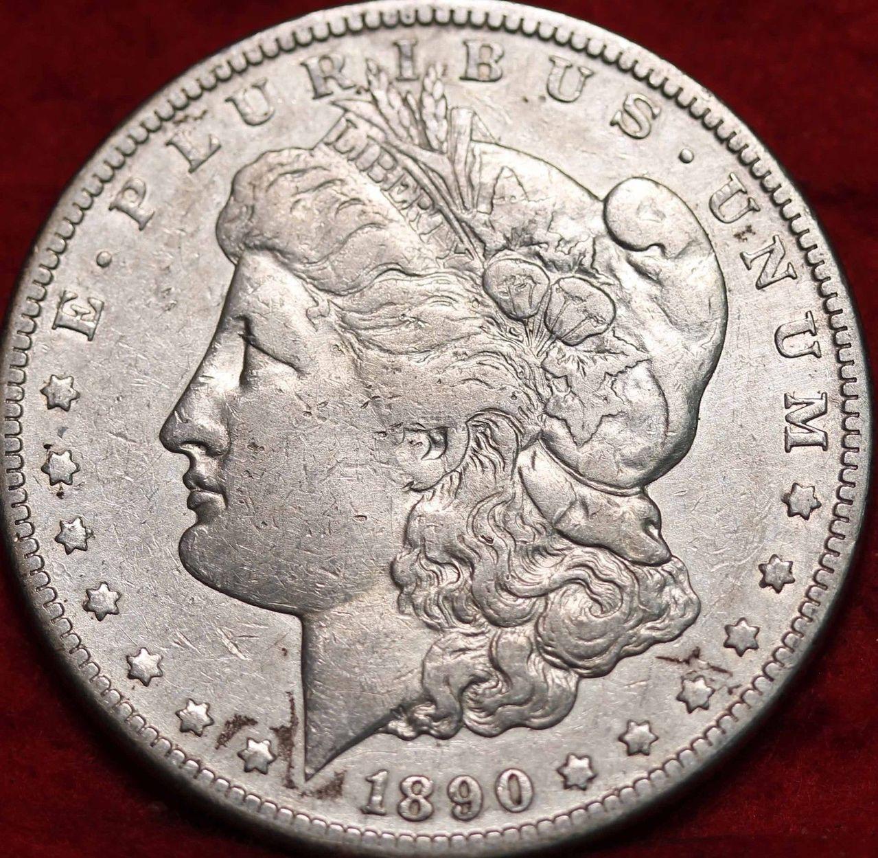 Estados Unidos - 1 Dolar 1890 Carson City  1890cc