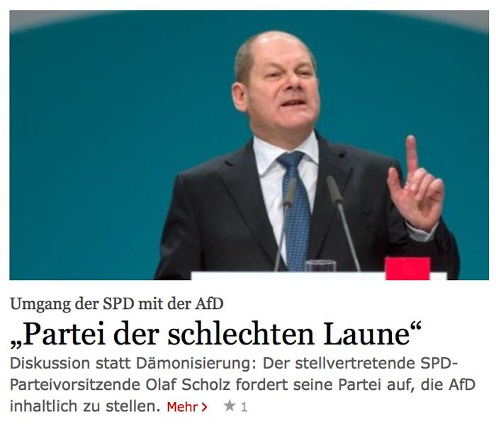 Umfrage / Vorerklärung: Wer wird SPD-Kanzlerkandidat? Scholzo