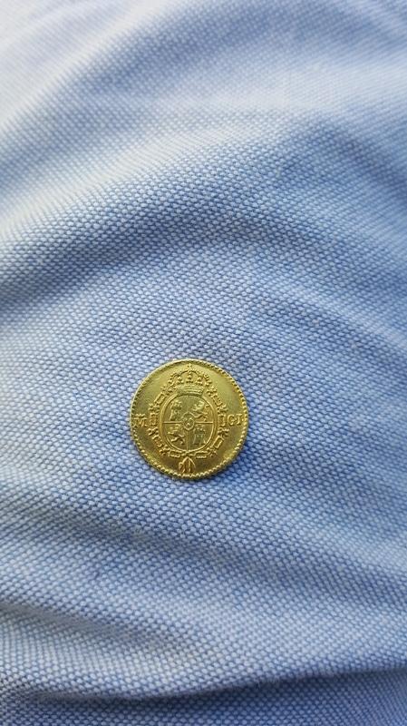 1/2 escudo 1817. Fernando VII. Madrid 20160714_190148_1