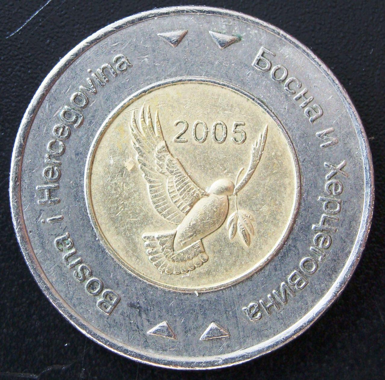 5 Marcos. Bosnia-Herzegovina (2005) BIH_5_Marcos_2005_anv