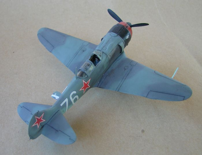 Lavočkin La-5FN, KP, 1/72 i Zvezda rebuild, 1/72 DSC01964