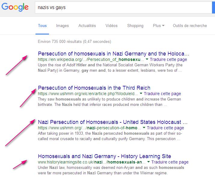homosexualité Nazis