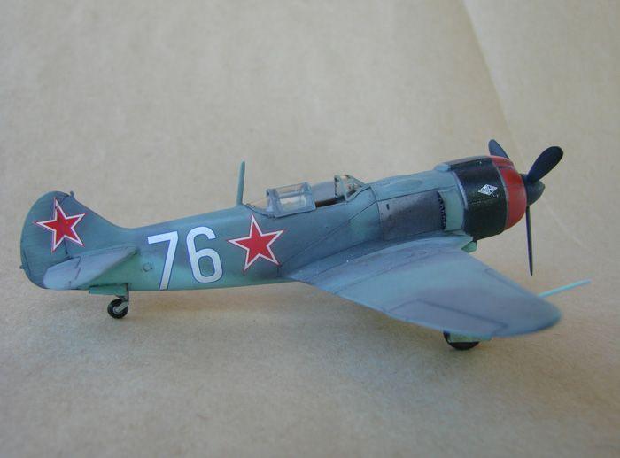 Lavočkin La-5FN, KP, 1/72 i Zvezda rebuild, 1/72 DSC01961