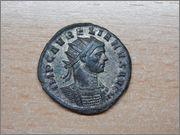 Antoniniano de Aureliano SOLI INVICTO - Ticinum Anverso