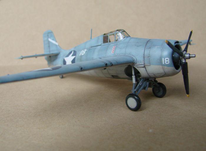 F4F-4 Wildcat, Hasegawa, 1/72 DSC02010