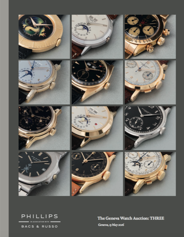 Catálogos - Phillips The Geneva Watch Auction: One / Two / Three The_Geneva_Watch_Auction_THREE